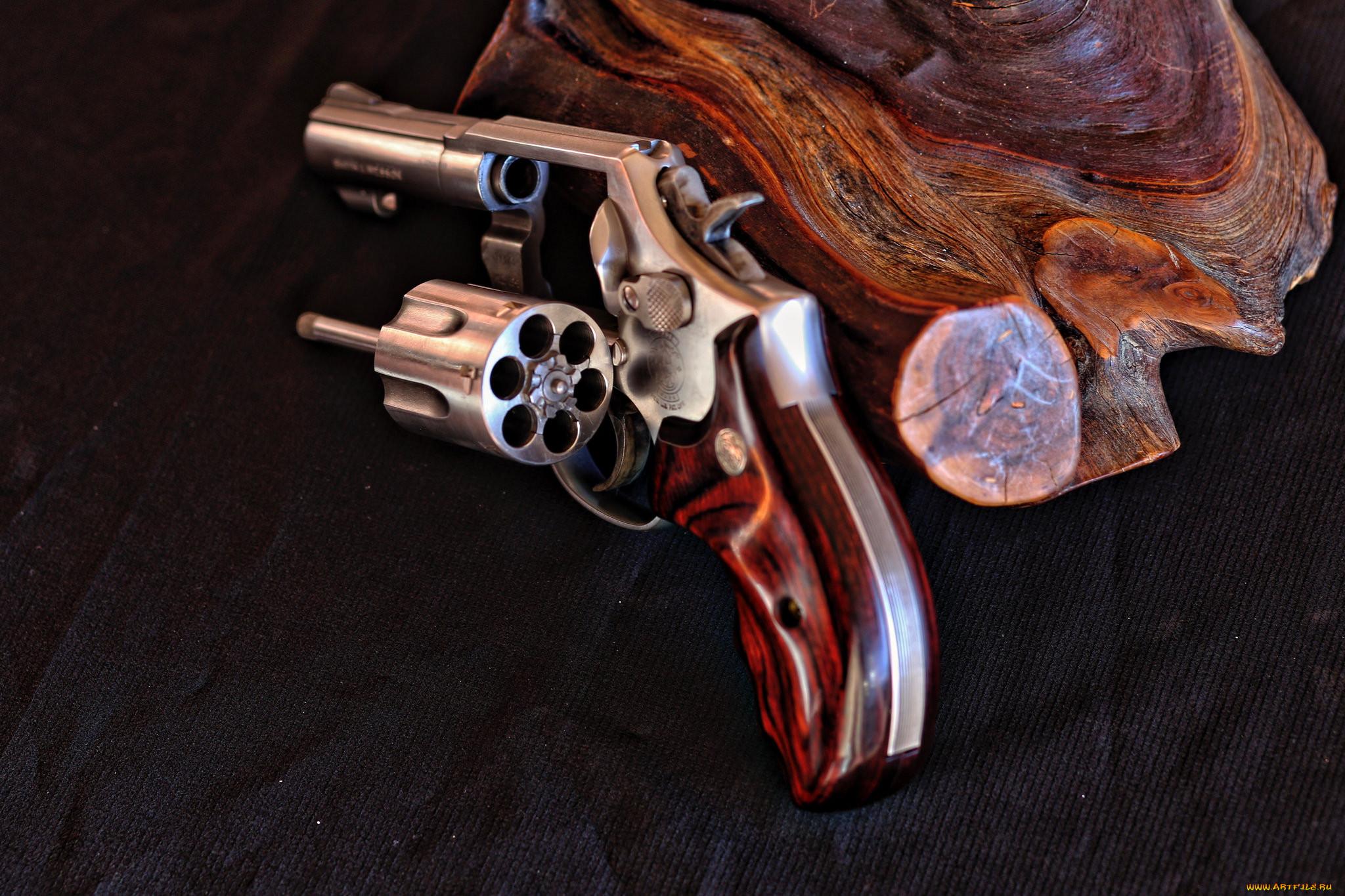 обзор моего фото обычного черного ствола револьвера первышов